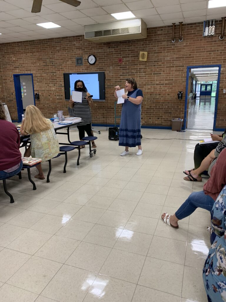 Mrs. Ashley and Mrs. Pickard present how Kindergarten journals can support emergent writers.